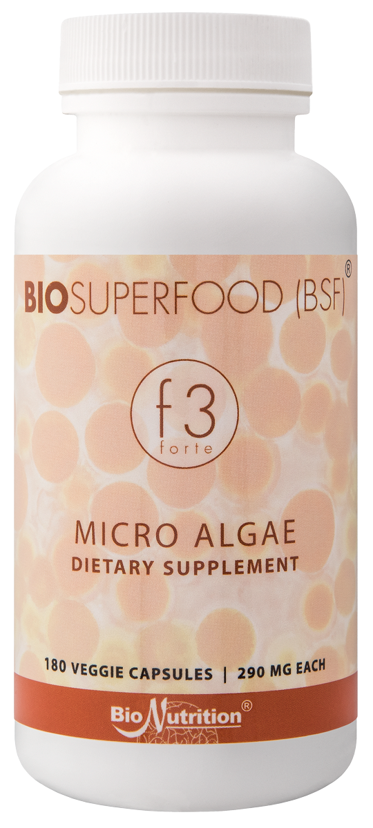 BioSuperfood f3 forte 180-count bottle