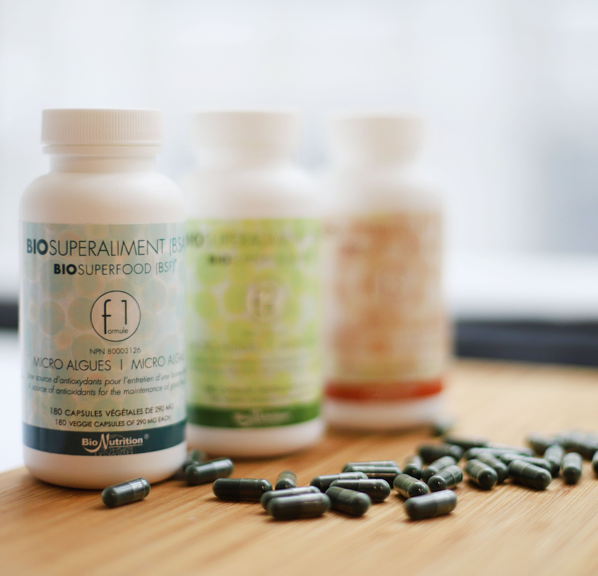 BioSuperfood comes in three formulas to accommodate different states of health.