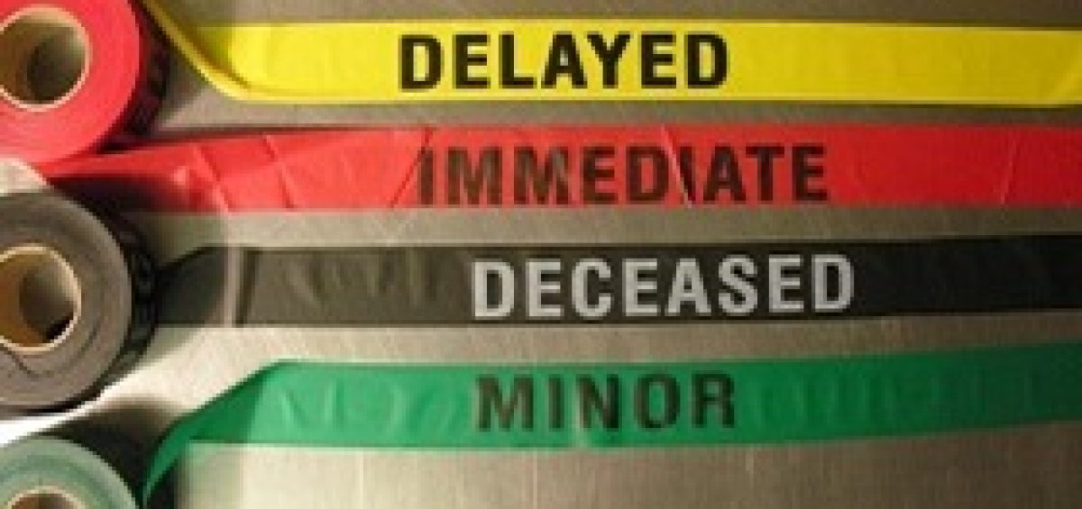 Mass Casualty Triage Tape